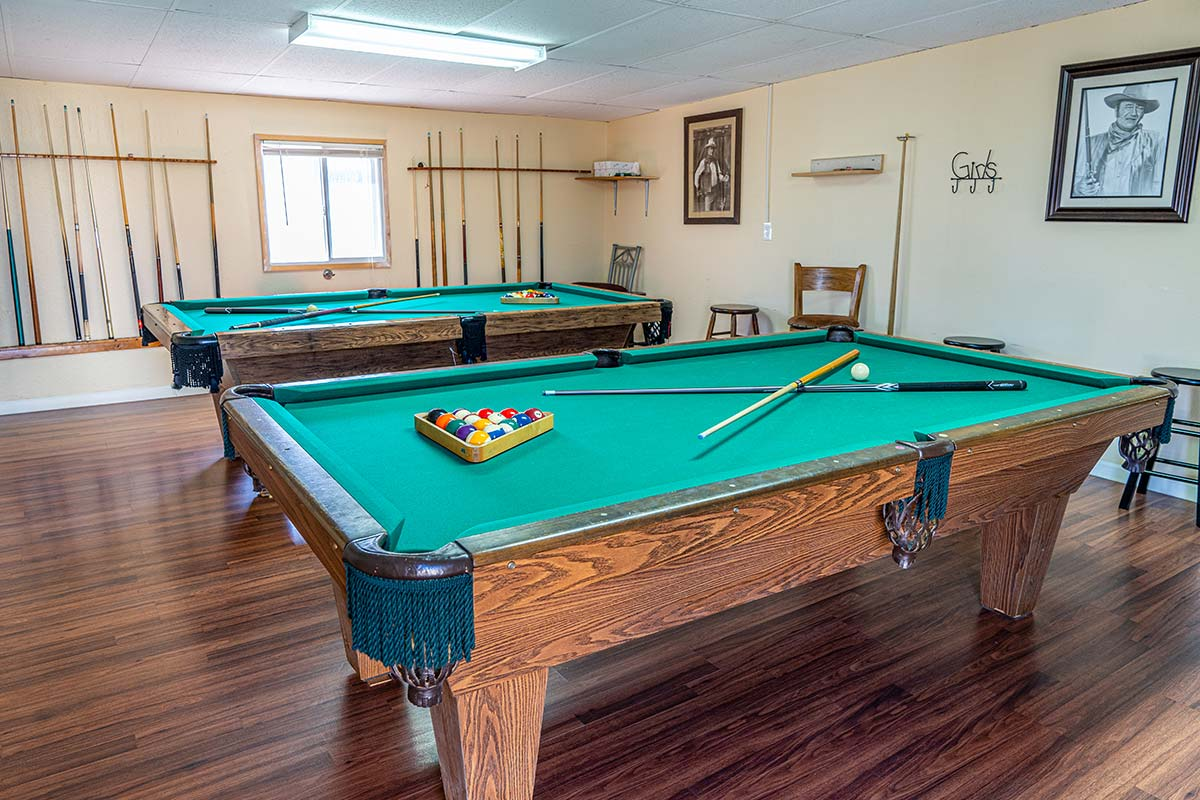 Meridian RV Resort billiards room
