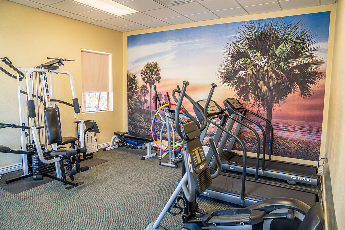 Shiprock RV Resort exercise room