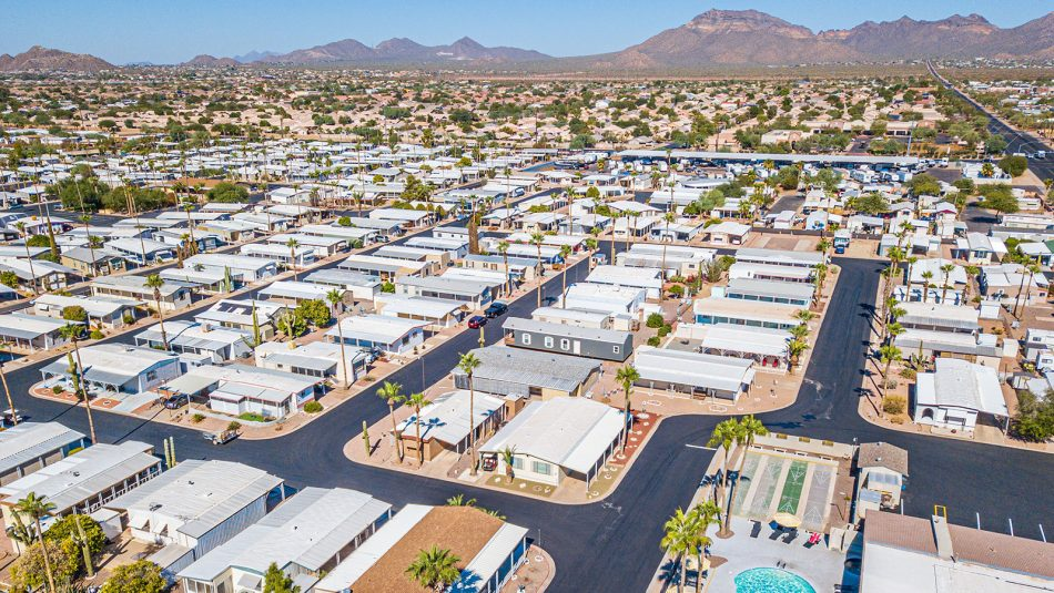 El Dorado Mobile Estates & RV Park aerial photo