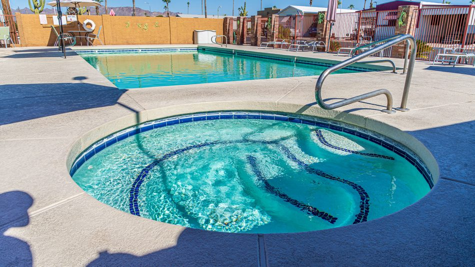 Meridian RV Resort spa and pool