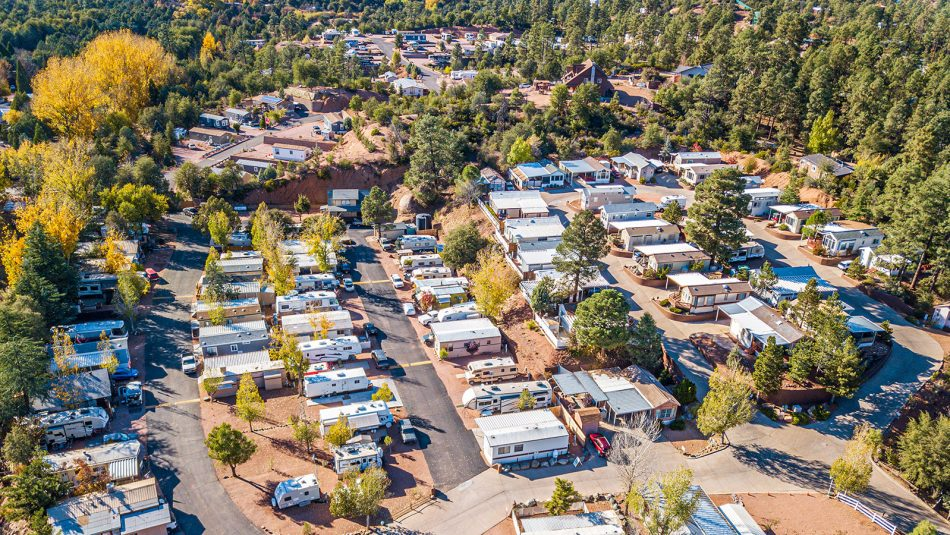 Pineview RV Resort aerial photo