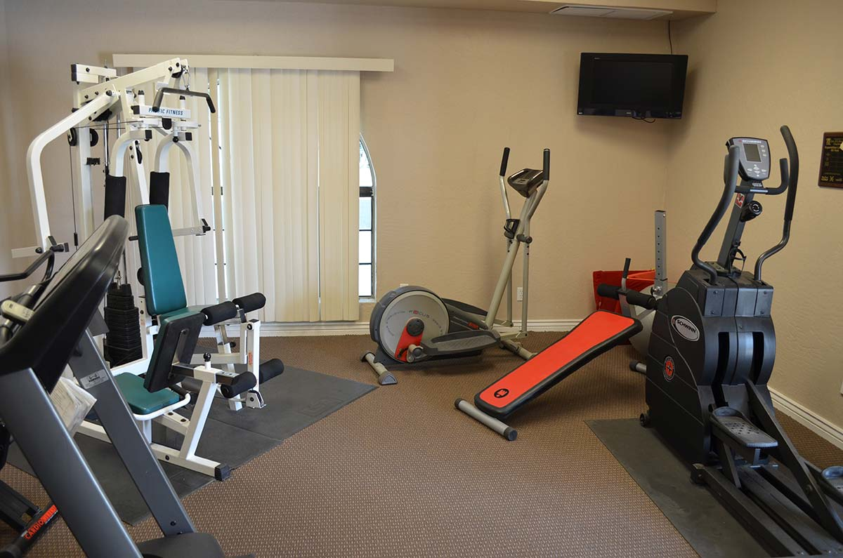 Superstition Lookout RV Resort exercise room