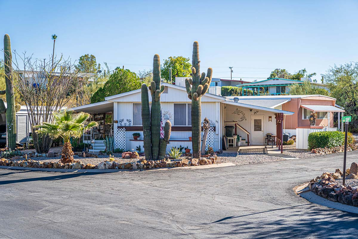 Mobile Homes at Arizona's Country Club Mobile Home & RV Park
