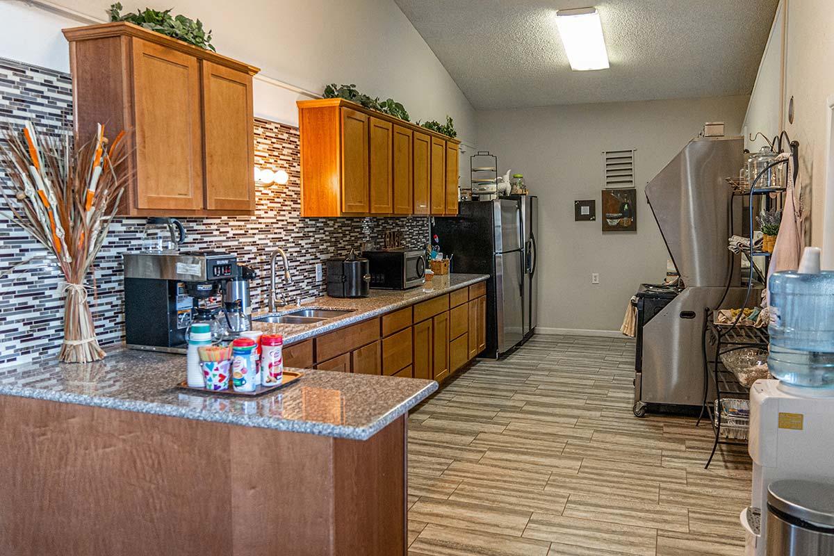 El Dorado Mobile Estates & RV Park Clubhouse kitchen