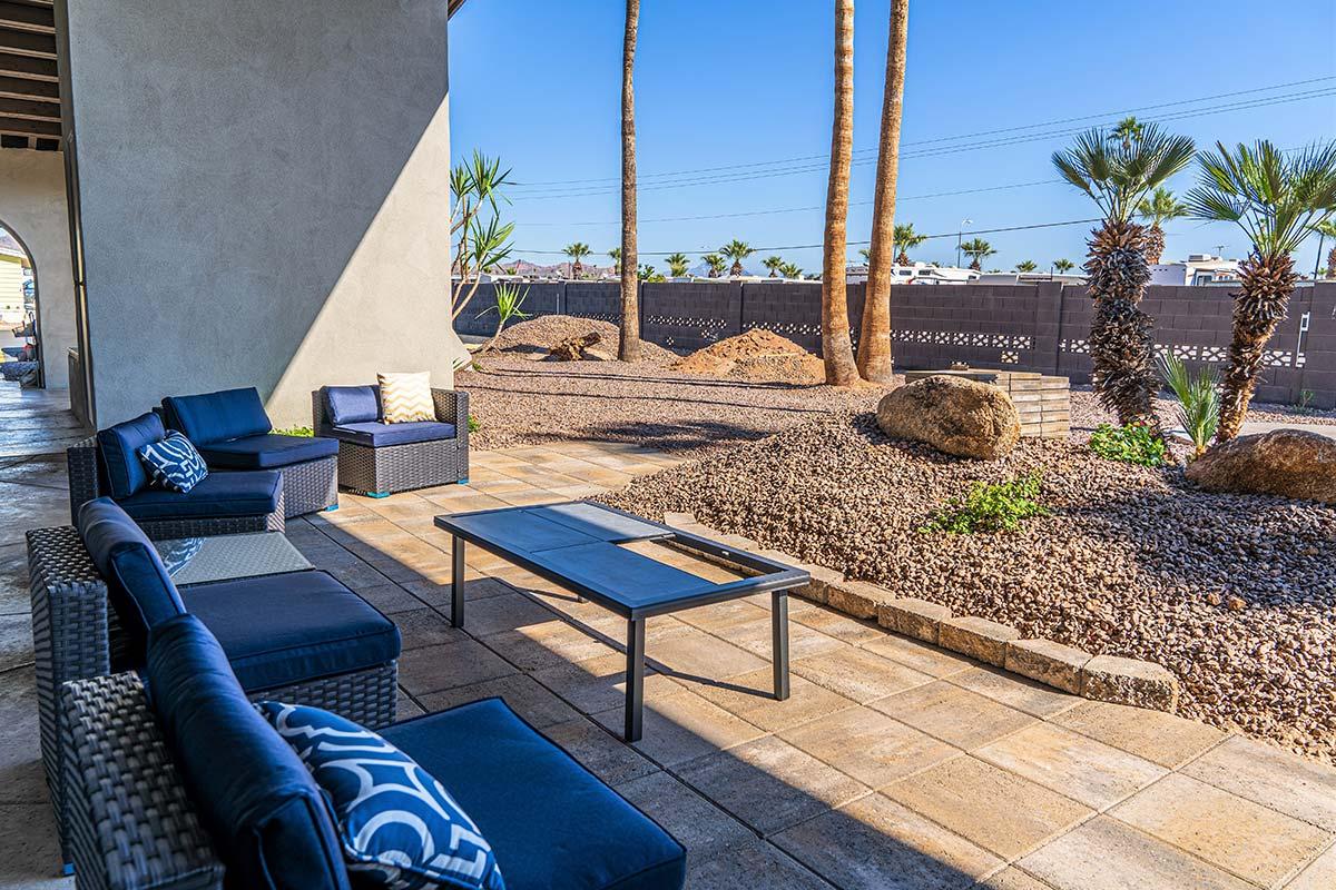 Relaxing outdoor sitting areas around El Dorado Mobile Estates & RV Park