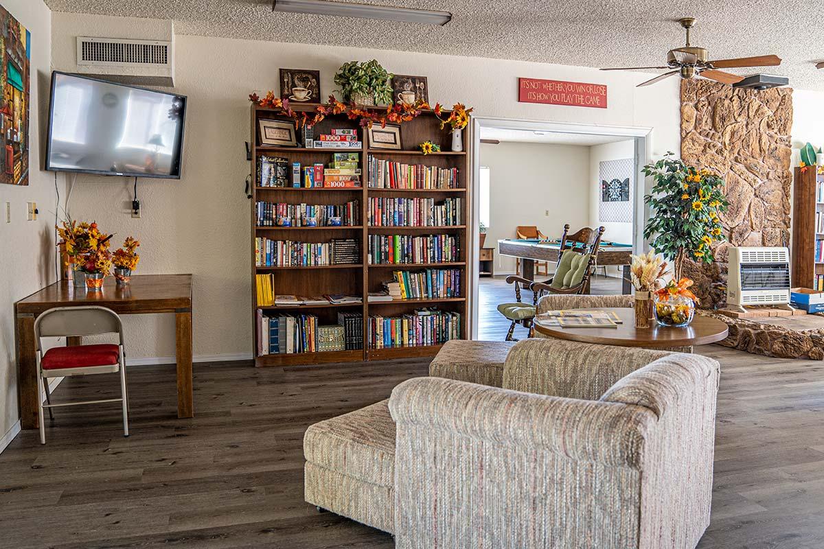 Houston Creek RV Resort Community's Clubhoue