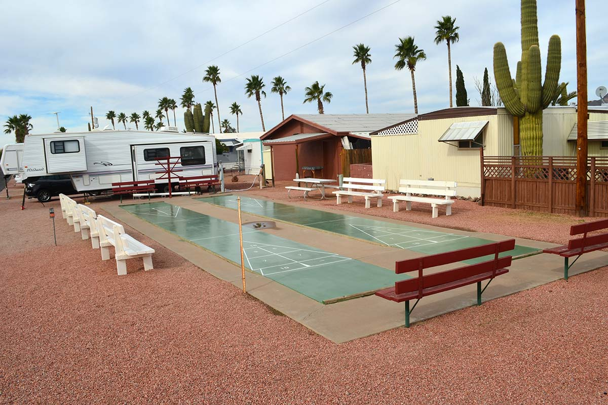 Ironwood RV & Mobile Home Park Shuffleboard courts