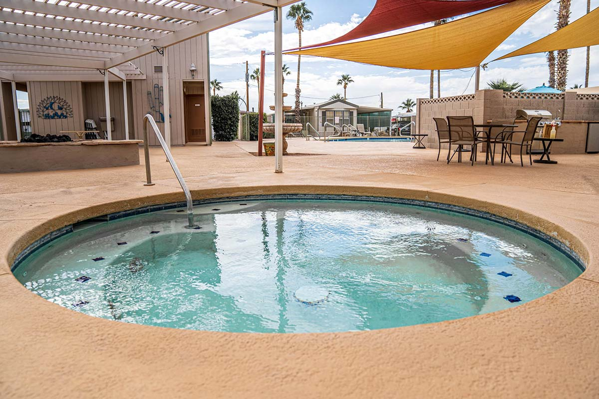 Therapeutic Spa at Ironwood RV & Mobile Home Park