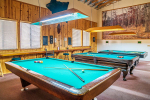 Billiards room with 3 tables