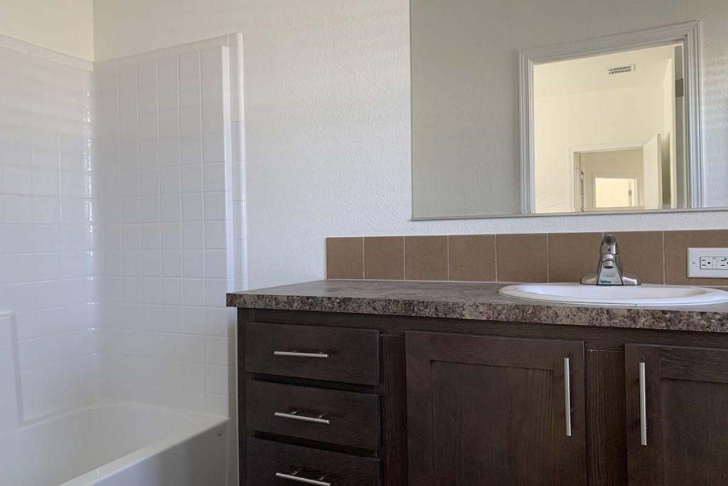 Meridian #142 Mobile home bathroom