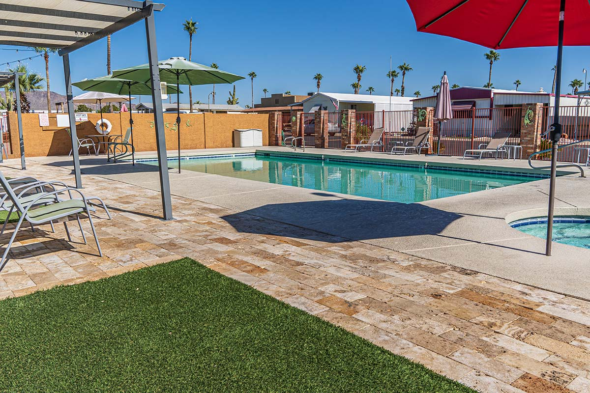 Meridian RV Resort Seasonally heated pool and spa