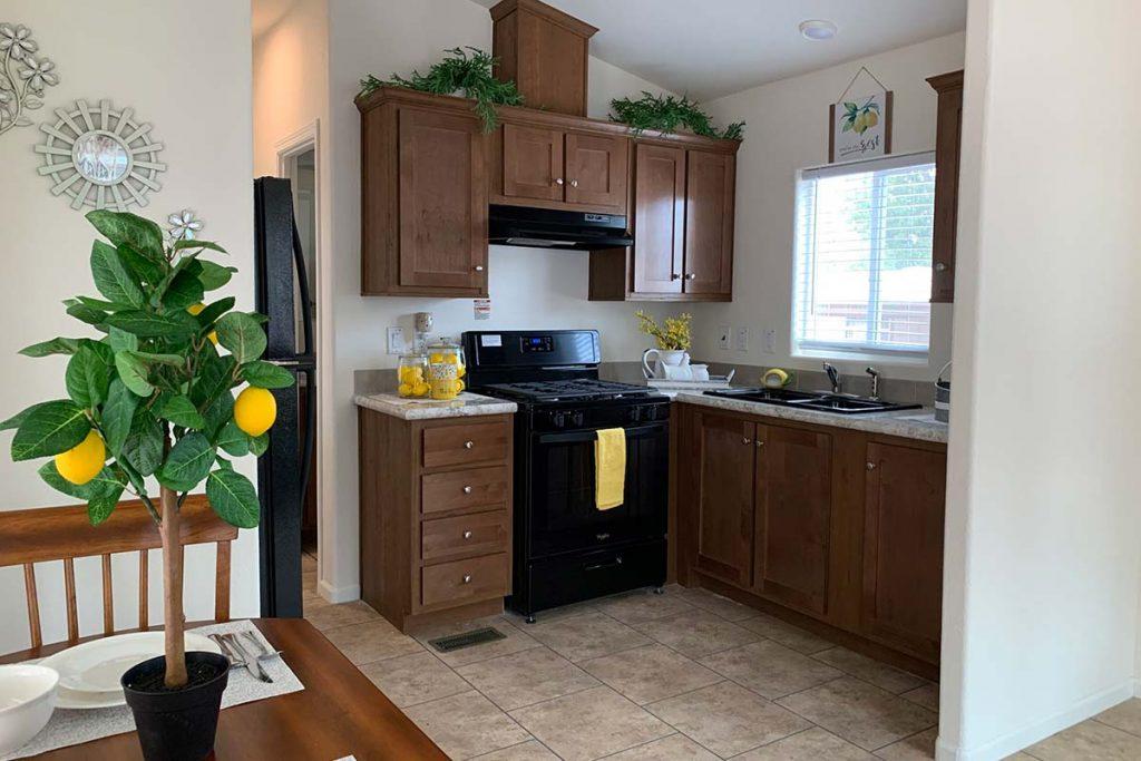 Pineview B-43 kitchen