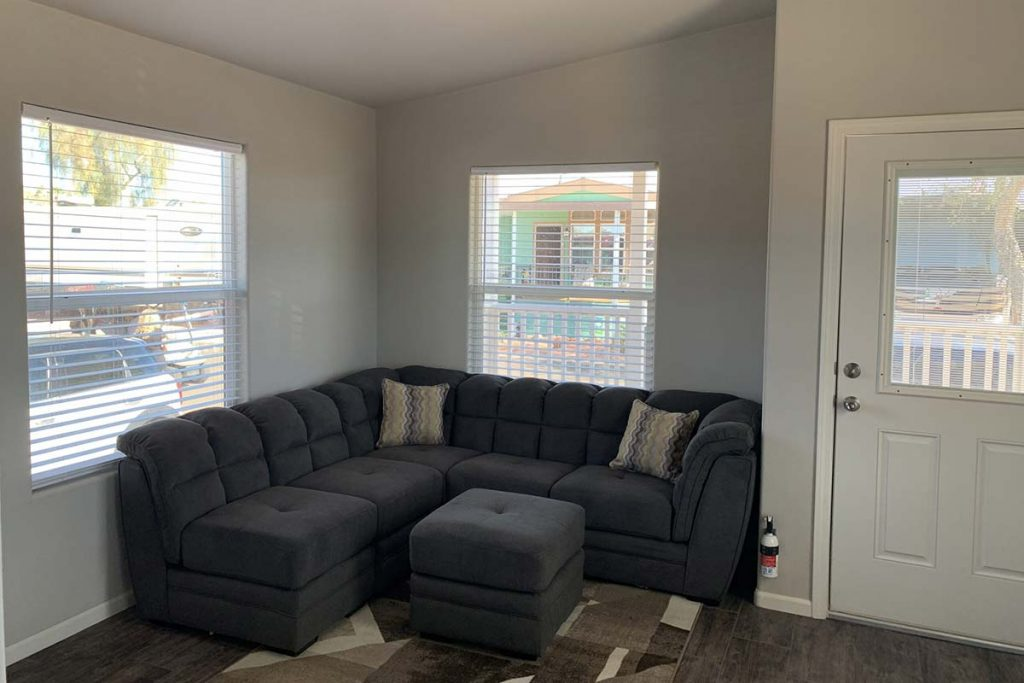 Shiprock #48 Mobile Home living room