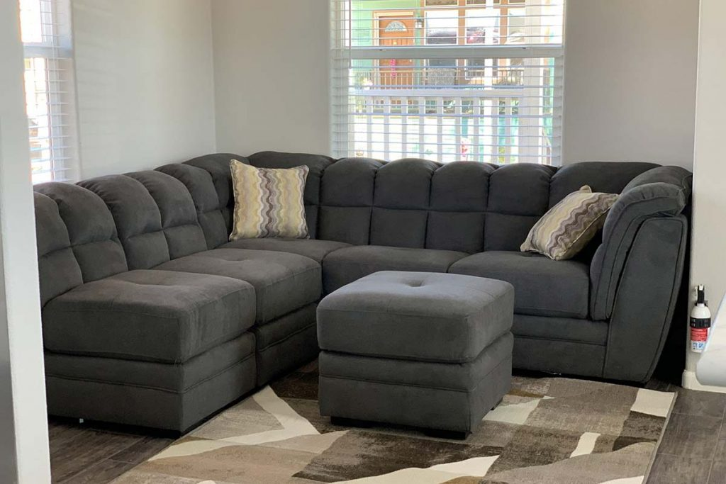 Sectional couch in Shiprock #48 livingroom