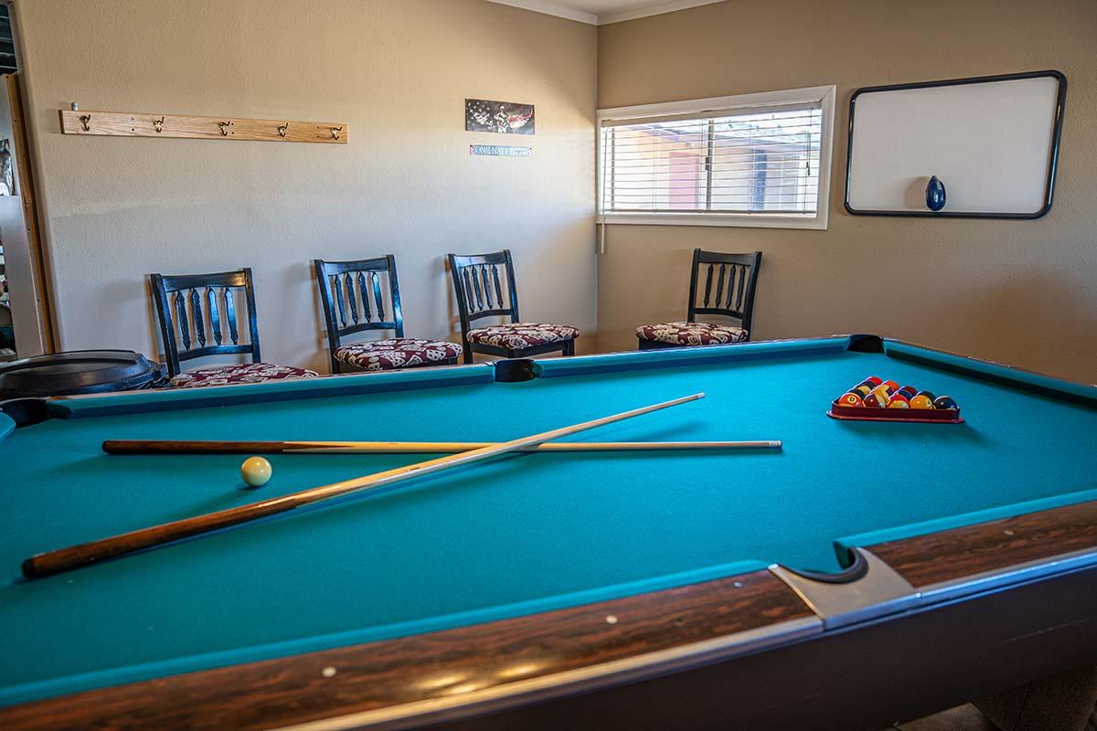 Sierra Leone RV Park Billiards room