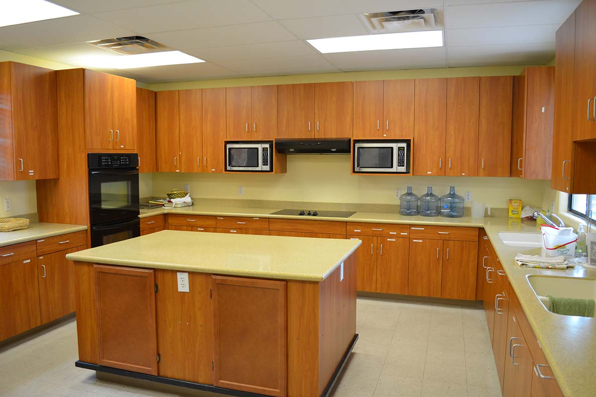 Clubhouse kitchen at Superstition Lookout RV Resort