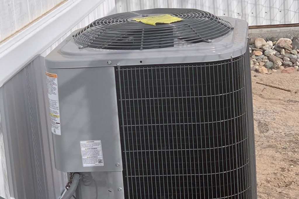 AC unit for Superstition #145 mobile home
